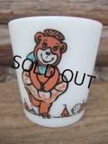 Milk Glass Mug / Bear (AC-614)