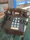 70s Vintage Telephone / Brown (AC-822)