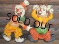 70s Vintage Clown Wall Deco Set (PJ364)