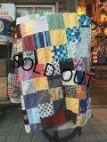 Vintage Fabric Patchwork #D (PJ738)