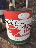 Vintage Wolf's Head 5GL Motor Gas/Oil Can (PJ925)
