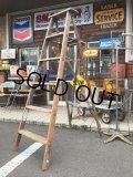 SALE Vintage Wood Ladder (DJ461)