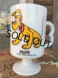 70s Vintage Federal Footed Mug Pluto (MA154)