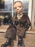 Vintage Charlie McCarthy Composition Ventriloquist Doll (MA217)