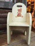 Vintage Kids Chair Bear&Lam (MA401)