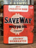 Vintage Save Way Motor Oil Can 2GL (MA545)