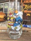 80s Vintage Glass Baker Smurf (MA724)