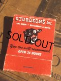 Vintage Matchbook Sturgeons Inc (MA5364)