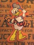 70s Vintage Disney Puffy Magnet Donald Duck (AL4521)