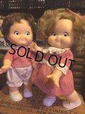 80s Vintage Campbell Kids Doll Set (AL315)