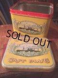 Vintage Oceanic Cut Plug Tabacco Tin Box (AL389)