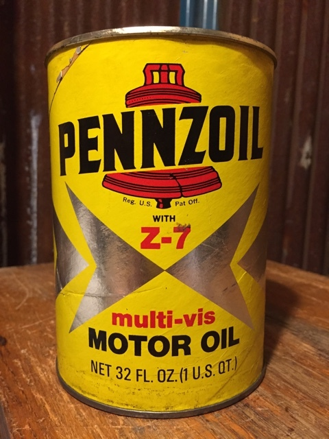 Sale vintage pennzoil a quart can motor gas oil dj204 2000toys Sale on motor oil