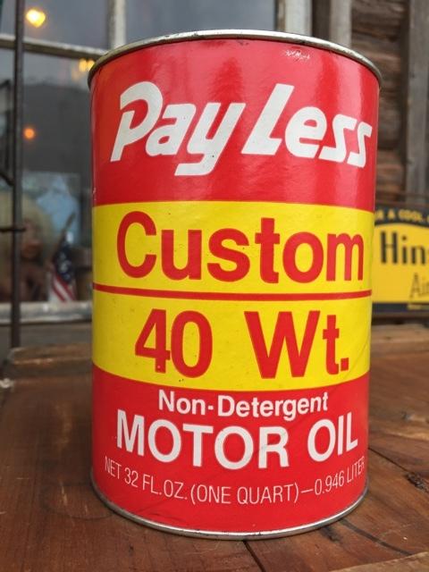 Sale vintage pray less 1 quart motor oil can dj879 for Sales on motor oil