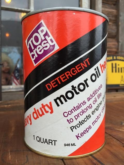 Sale vintage topco 1 quart motor oil can dj875 2000toys for Sales on motor oil