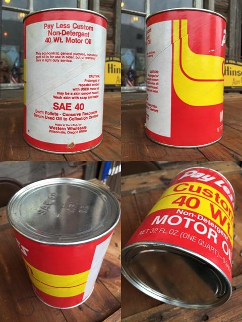Sale vintage pray less 1 quart motor oil can dj879 for Sale on motor oil