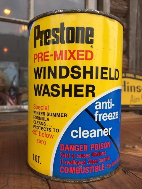 Sale vintage prestone 1 quart motor oil can dj878 for Sales on motor oil