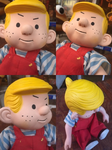 vintage dennis the menace lamp